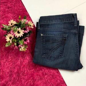 7 For All Mankind Dojo Studded Jeans